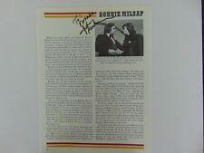 Johnny Cash & Barbara Mandrell Signed Magazine Page Todd Mueller COA
