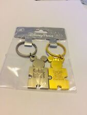 Mickey & Minnie Mouse Keyrings - Wedding Gift Disney Land/His & Hers