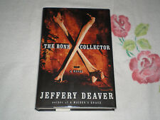 The Bone Collector by Jeffery Deaver  **SIGNED**  -JA-
