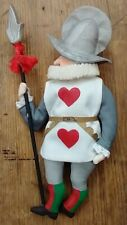 """Gladys Boalt Christmas Ornament """"Palace Guard"""" 1990 From the Alice in Wonderland"""