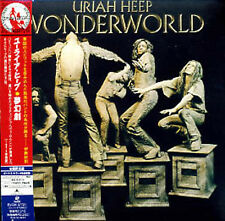 Uriah Heep WONDERWORLD (1974) + 6 bonustracks JAPAN MINI LP CD BVCM - 37721 SS NEW!