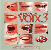 Compilation CD Les Plus Belles Voix 3 - France (M/M)