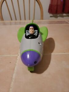 Shake N Go Buzz Lightyear Rocket Toy Story Car  Toy Mattel Vehicle 2009