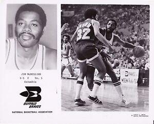 Vintage Jim McMillian Buffalo Braves Team Issued 8x10 Basketball Photo