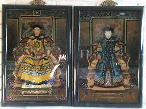 The Qianlong Emperor and Empress Portraits