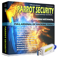 PARROT on 32GB USB NEW 2020 Complete Arsenal of Hacking Tools use on any PC