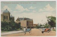 South Africa postcard - Bay Esplanade showing Durban Club & Marine Hotel, Durban