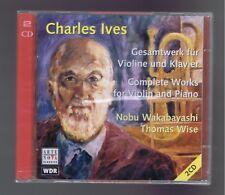 YVES 2 CDS(NEW) COMPLETE WORKS FOR VIOLIN & PIANO/ NOBU WAKABAYASHI/ THOMAS WISE