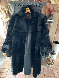 vintage black seal coat