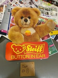 Steiff Store Advertisement Hanging Sign, 18 inch, Circa 1980s
