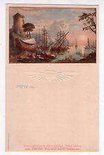 Menù Navigazione Generale Italiana. Florio - Rubattino 1909. Marina