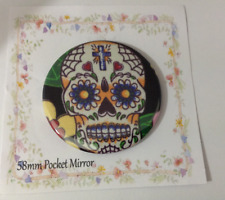 Pocket Mirror Skull Bag Makeup Purse Travel Birthday Party Filler Wedding Gift