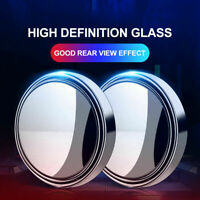 360°Wide Angle Convex Car Blind Spot Round Side View Rearview Mirror Accessories