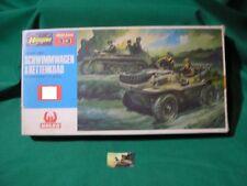 Soldatini Kit Montaggio Hasegawa Schwimmwagen & Kettenkrad plastica 1:72