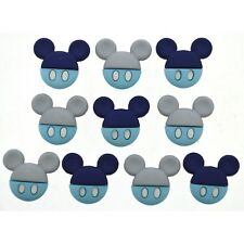 Disney Mickey Mouse Buttons - Dress it Up Baby Mickey - New Baby Boy Shower