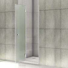 80x190cm Duschtür Nischentür Dusche Duschabtrennung Echtglas Satiniert Glas L