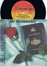 Cockroaches ORIG OZ PS 45 See you in Spain NM '84 New wave Pop Rock Wiggles