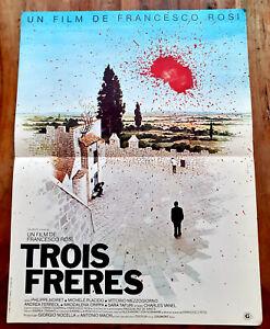 Trois frères - Francesco ROSI / Philippe NOIRET - Affiche Cinéma (40x60)