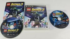 LEGO Batman 2 and 3 : Beyond Gotham - Sony PlayStation 3) PS3 Game lot - Tested