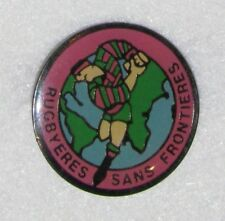 D24 PIN RUGBY CLUB SPORT SANS FRONTIERES FOOTBALL  FOTT  free ship on add pins