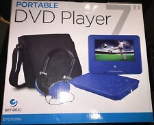 New listing Ematic 7� Portable Dvd Player Kit - Epd707Bu