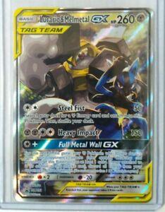 Pokemon Power Tag Team Lucario & Melmetal GX Promo SM192 Full Art Mint HP260 Hot