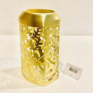 Bath And Body Works Gold Tone Nwt Lotion/soap Cover Leaves metal Contemporary