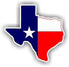 Texas State Flag Vinyl Decal Bumper Sticker High Quality Texas USA America Truck