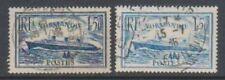 Timbres bleus avec 6 timbres