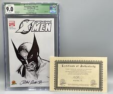 Astonishing X-Men 25 DF Sketch Variant CGC 9.0 COA 45/200 Signed by John Romita