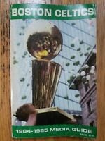 1984-85 Boston Celtics Media Press Record Guide Book Larry Bird
