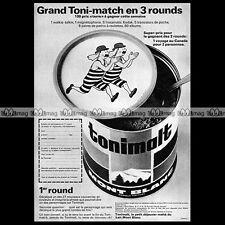 TONIMALT & TINTIN Hergé Kuifje 1967 - Pub / Publicité / Original Advert Ad #A838