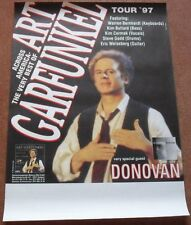 Art Garfunkel Donovan German 1997 concert Poster
