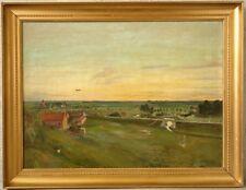 » Weite Landschaft « monogr. CJ ! ~1920