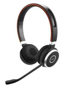 Jabra Evolve 65 MS Stereo Wireless Headset - BLACK