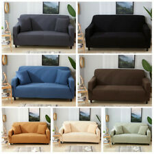 2/3/4 Seaters Slipcover Thickened Covers Elastic Couch Chair Sofa Cover Non-slip