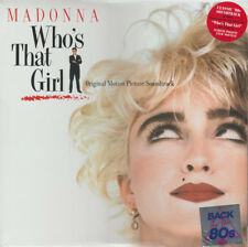 MADONNA - Who's That Girl Movie Soundtrack LP - Vinyl Album Reissue - SEALED