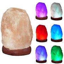 LED Lampe Schreibtischlampe ca.7x7x10 cm Salzlampe USB Lampe LED bunt wechselnd