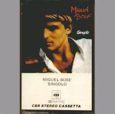 "MIGUEL BOSE' "" SINGOLO "" MC MUSICASSETTA NUOVA CBS ITALY 1981"