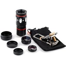 Fish Eye +Wide Angle Micro 10x Telephoto Camera Lens for Samsung Galaxy S3 S4 S5