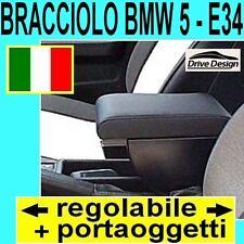 BMW 5 - E34 - E 34 - bracciolo portaoggetti REGOLABILE per - vedi tappeti auto