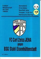 OL 89/90 Carl Zeiss Jena-acciaio siderurgico città (RS-A)