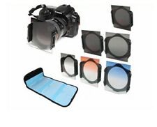 ND2/ND4/ND​8 Graduated Filter Kit + 72mm Ring adapter For Cokin p series + case