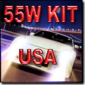 55W H13 Bi-xenon (Hi/Lo) HID Headlight Bulbs For Hi & Lo Beam 43K 6K 8K 10K @
