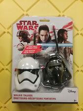 Star Wars Disney Walkie Talkies  NEW FREE SHIP US