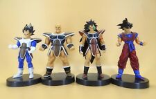 "lot of 4 DragonBall Z DBZ goku vegeta Raditz Nappa PVC  FIGURE 5"" loose"