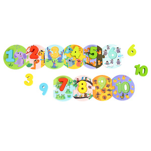 Tooky Toy Number Puzzle