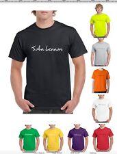 JOHN LENNON Music Band Choose colour and size T-Shirt (S-2XL)