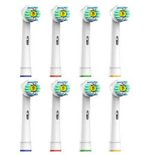 8X FIT BRAUN ORAL B 3D WHITE PRO BRIGHT TOOTHBRUSH REPLACEMENT HEADS EB18-4