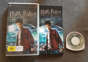 Harry Potter and the Half-blood Prince  PSP Playstation Portable Game Free Post
